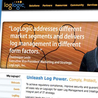 LogLogic website redesign