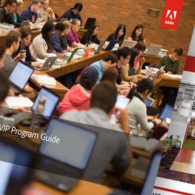 Adobe program marketing and sales tools