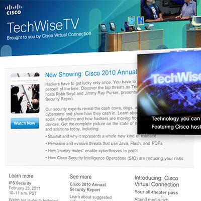 Cisco awareness campaign