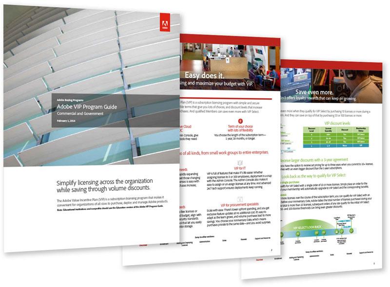 B2B brochures