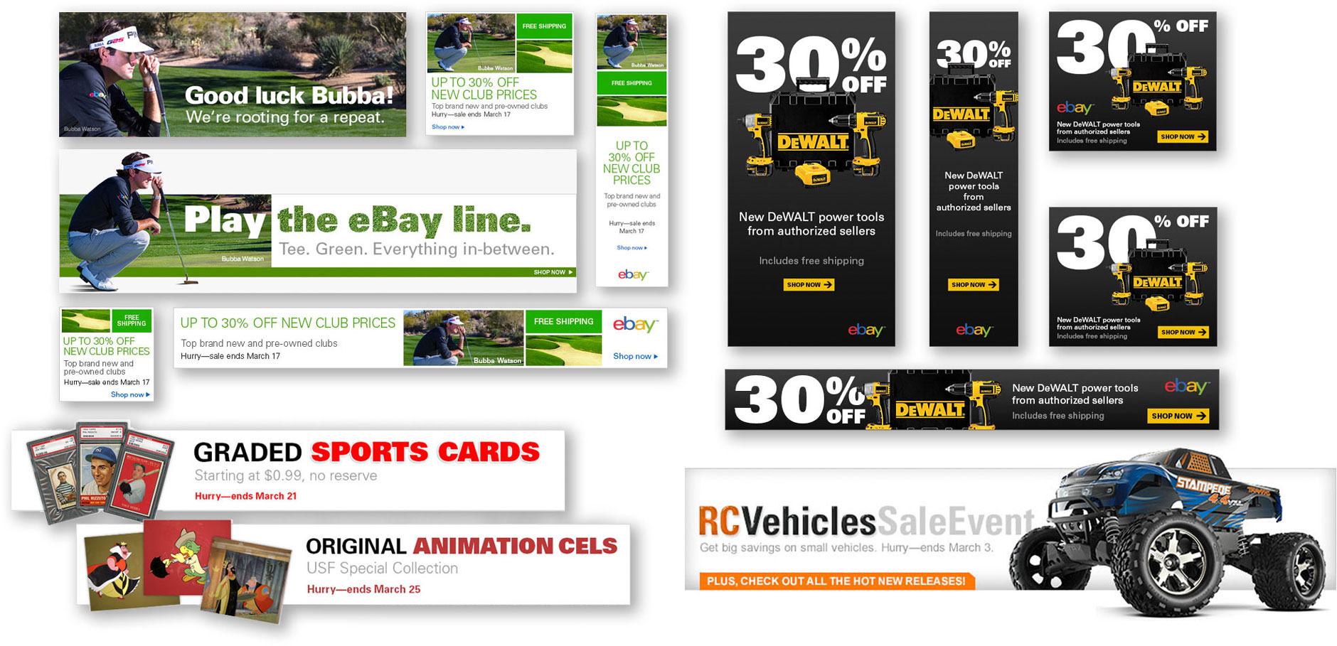 Banner design ebay ebay banner ads scott design for Ebay ad template