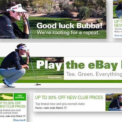 eBay banner ads