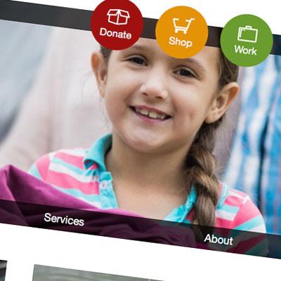 WordPress website for nonprofit