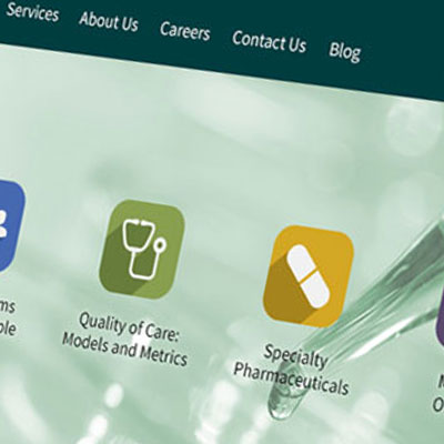 Health Industries Responsive Website