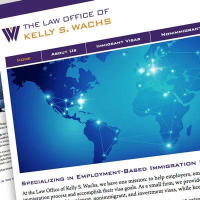 immigration law firm website