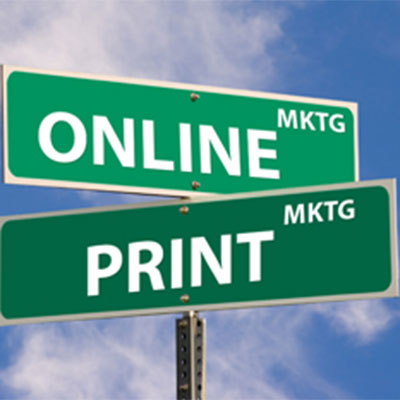Integrating print in a digital world
