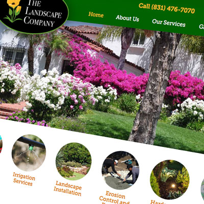 Landscape services website