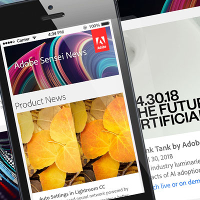 Adobe Sensei Monthly Newsletter