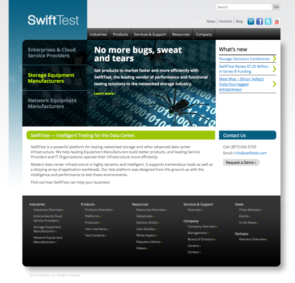 SwiftTest Home Page