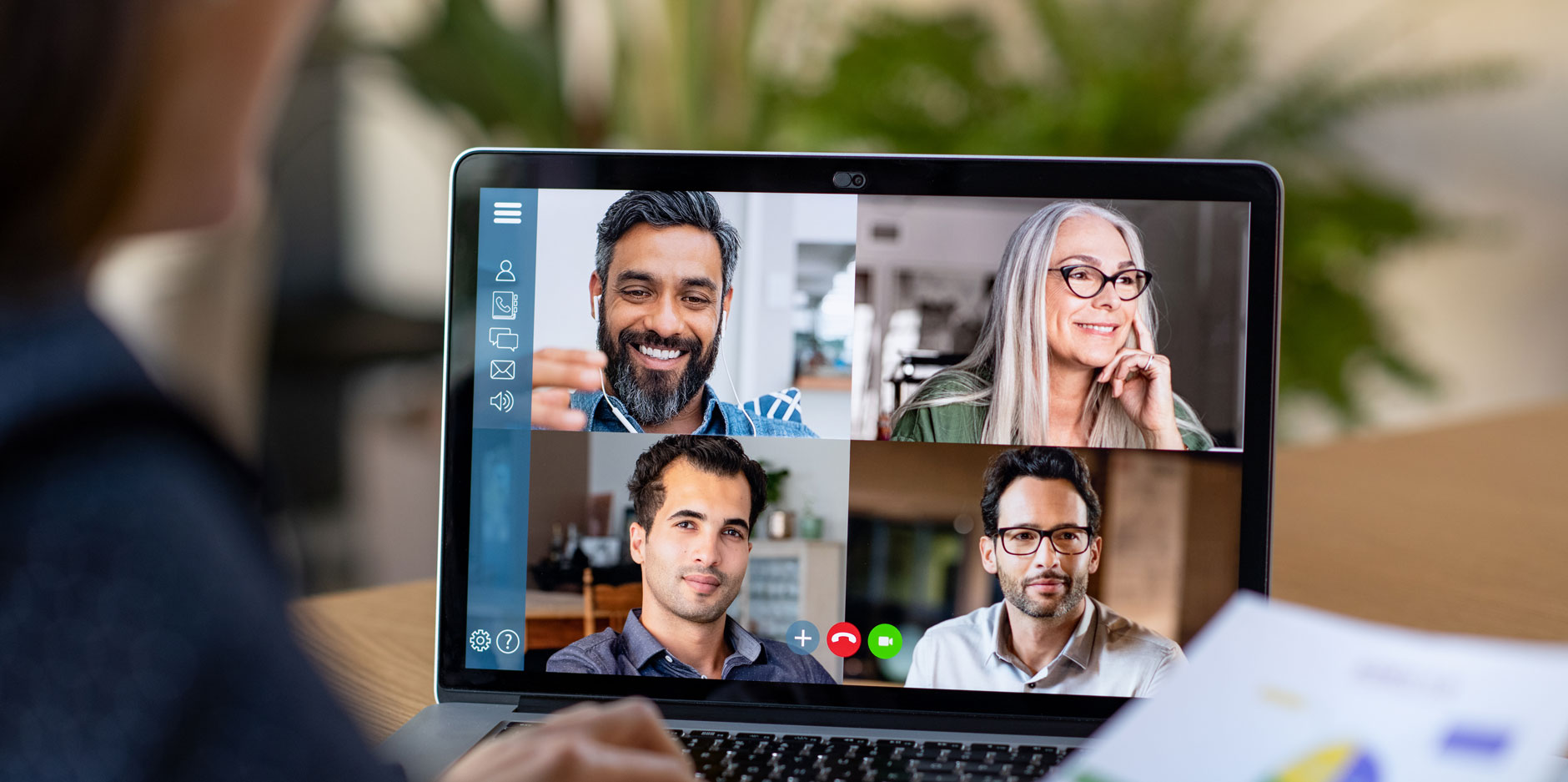setup advice for video calls